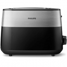 Prajitor de paine PHILIPS HD2515/90 Daily Collection, 2 felii, 830W, negru