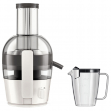 Storcator de fructe Philips Viva Collection HR1855/80, 700 W, 0.8 l, 1.2 l, 1 Viteza, Alb