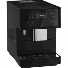 Espressor automat Miele CM 6160 MilkPerfection Black, 15 bar, 1,8 L, WiFiConn@ct, OneTouch for Two, AromaticSystem, Negru
