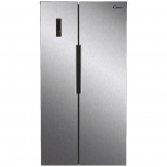 Side by side Candy CHSBSV 5172X, 436 l, Clasa A+, No Frost, H 177 cm, Inox